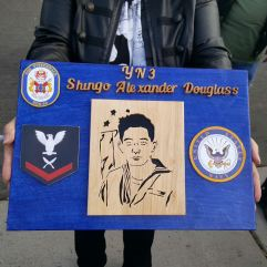 Plaque Made by a Member