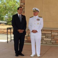 Three-Star Admiral and Congressman Darrell Issa